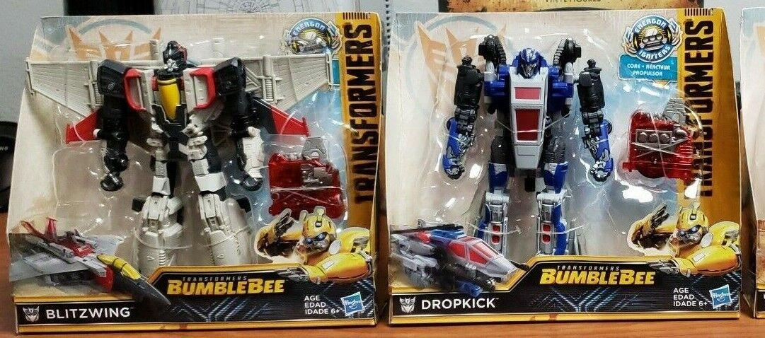 Transformers Bumblebee Energon Igniters Set BLITZWING & DROPKICK Nitro RARE