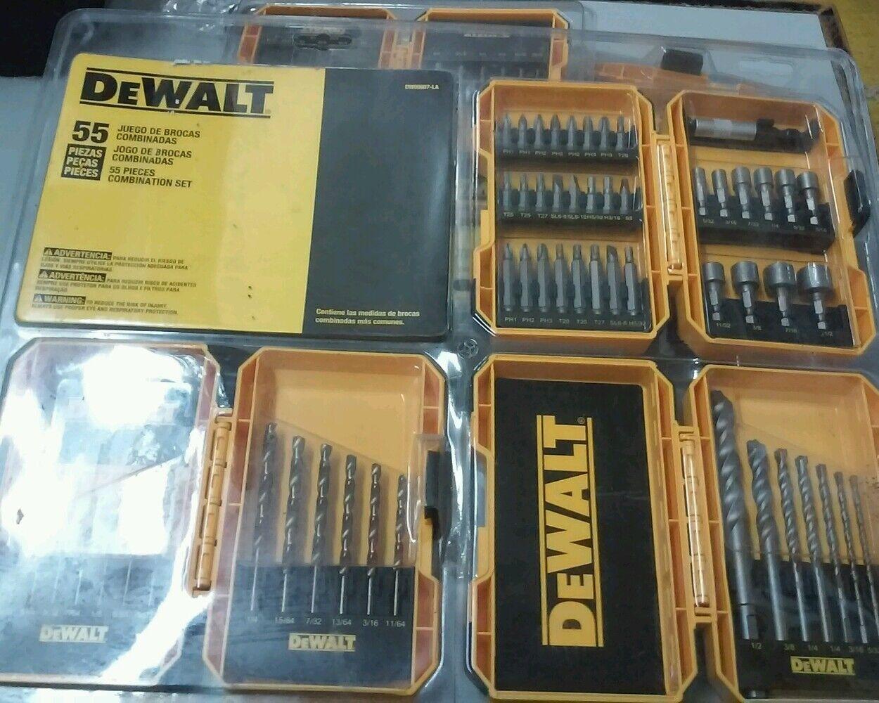 Dewalt DW00607-LA 55 Tiele Kombination Set