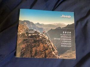2020 Jeep Grand Cherokee Color Brochure catalog Prospekt