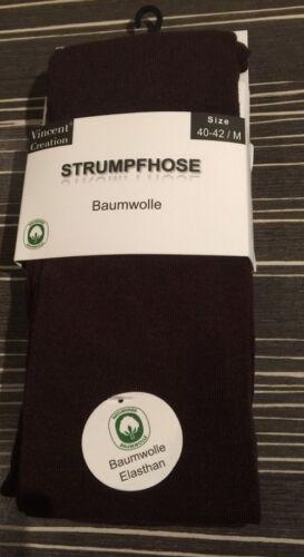 Damen Strick-Strumpfhosen //Baumwolle//VCA//braun//gr-L44-46