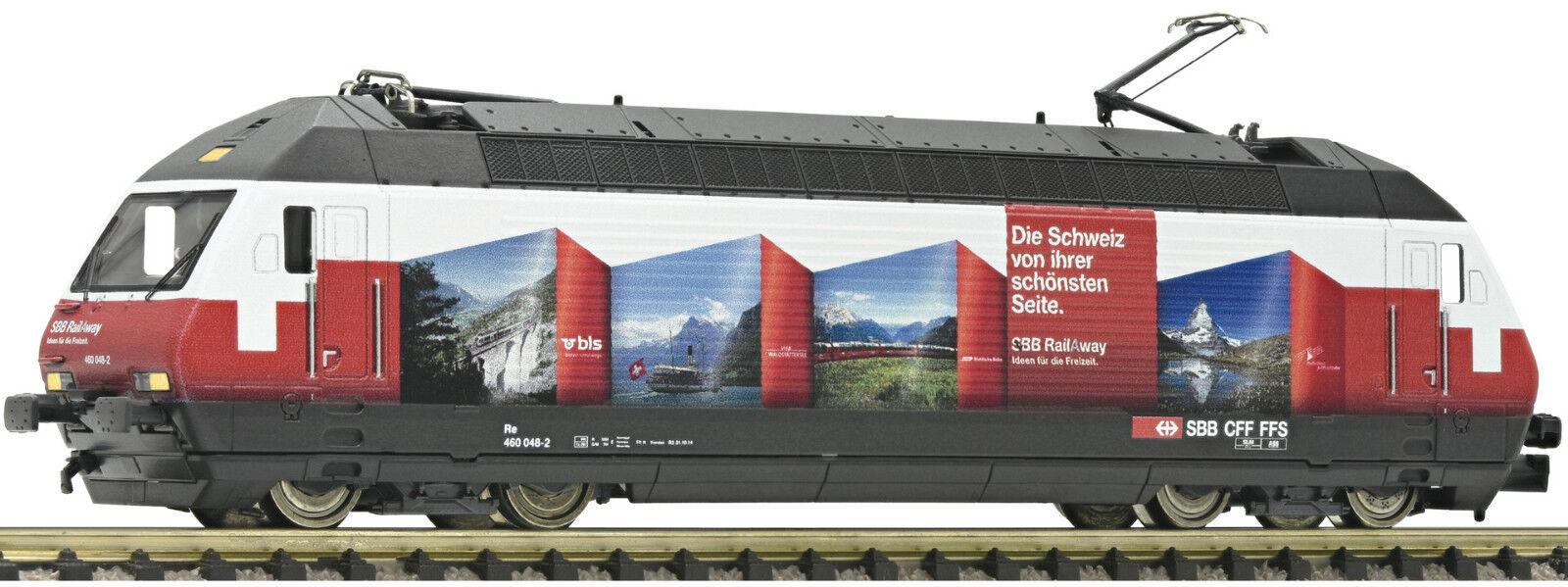 Fleischmann N 731316 E-Lok re 460 ROSSO SBB Svizzera neu&ovp