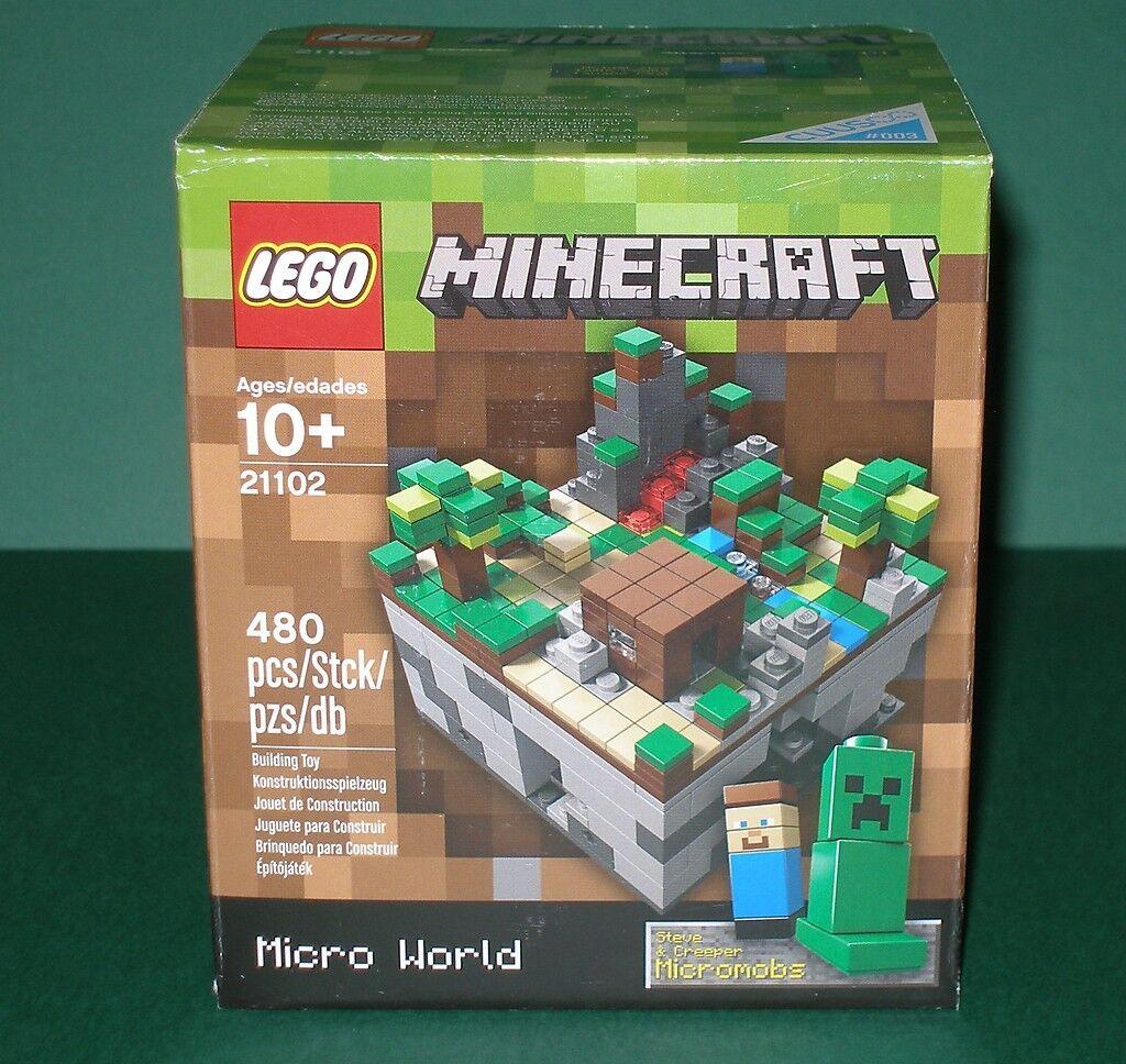 Lego Cuusoo 21102 Minecraft Der Wald  Steve Steve Steve und Creepper  NEU und OVP afbd55