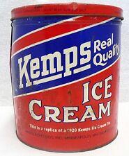 KEMPS REPLICA OF A 1920 ONE GALLON ICE CREAM TIN