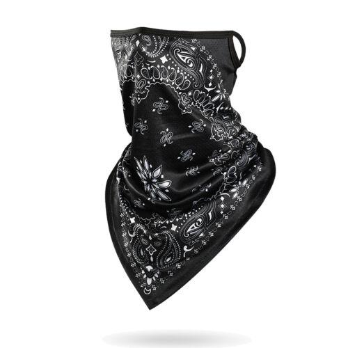 Elastic Face Neck Gaiter Mask Tube Bandana Cooling Cover Shield Balaclava Scarf