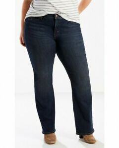 Levis-415-Jeans-Levi-039-s-Women-039-s-Relaxed-Boot-Cut-Dark-Denim-size-20W-S-NWT