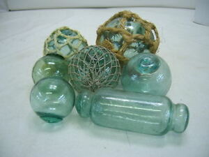 Glass-Fishing-Floats-Collectors-Starter-Pack-Vintage