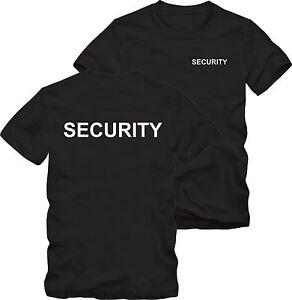 Security T Shirt Arial Sicherheitsdienst Bekleidung Bis 5 Xl Ebay