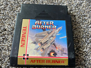 After Burner Tengen Nintendo Nes Game Only Tested WORKS Authentic Game