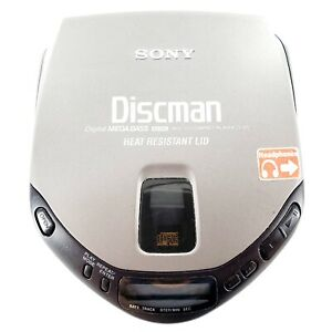 Sony Discman D-171 Portable CD Compact Disc Player Mega Bass Tested & Works