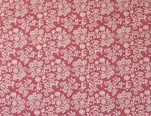 ROSE-PINK-WITH-A-PRETTY-CREAM-ROSE-DESIGN-100-COTTON-FABRIC-FQ-039-S