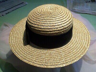 Wide brim fedora white black summer resort sun hat straw casual panama