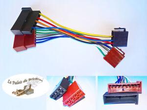 Cable-autoradio-Adaptateur-faisceau-ISO-pour-FORD