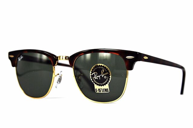 Ray-Ban Sonnenbrille/Sunglasses Clubmaster RB3016 W0366 49[]21 3N inkl. Etui