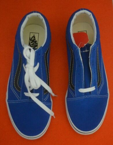 Uk Vans 5 Post Old Free Size New Brand Skool Lace Up Blue 5rOw5nAq