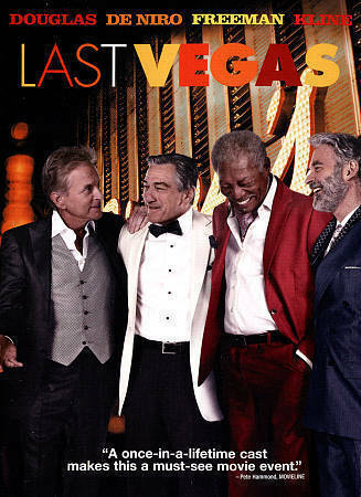LAST VEGAS DVD - - ROBERT DE NIRO - MORGAN FREEMAN - FORMER RENTAL