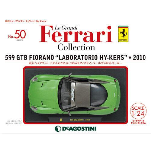 DeAgostini 599 GTB Fiorano Laboratorio Hy Kers 2010 1 24 Le Grandi Ferrari No 50
