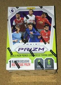 🔥 2020-21 Panini Prizm English Premier League EPL Soccer ⚽ Blaster Box In Hand