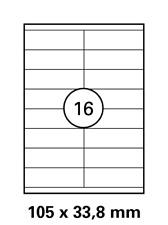 Verschiedene A4 Bogen Laser Copy Inkjet Etiketten