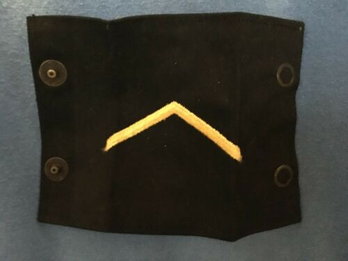 Vintage Pair EPAULETS United States Military Uniform Specialist Army Navy Marine