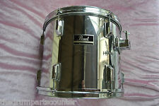 """PEARL EXPORT SERIES 13"""" CHROME RACK TOM for YOUR DRUM SET! LOT #J957"""