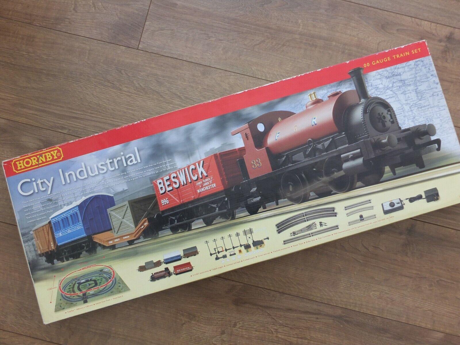 Venta barata Hornby R1127 OO Gauge City Industrial Industrial Industrial Train Set -  Mint & Boxed  de moda