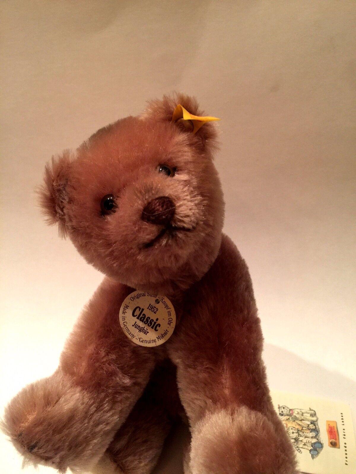 STEIFF   CLASSIC 1952 BEAR CUB  REPLICA EAN 034305
