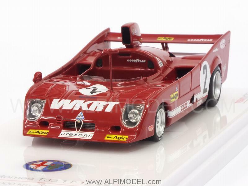 Alfa Romeo T33 TT12 1000Km Monza 1975 Merzario - Laf 1 43 TRUESCALE TSM164311