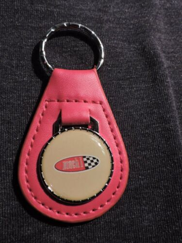 1969 1970 1971 1972 1973 2003 2004 FORD MUSTANG MACH 1 OVAL LOGO KEYCHAIN RED
