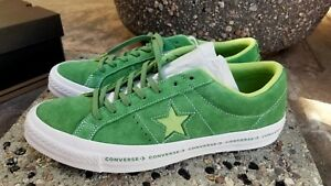 4ae354d72d21 CONVERSE ONE STAR OX MINT GREEN - JADE LIME - WHITE MEN S SIZE 11 ...