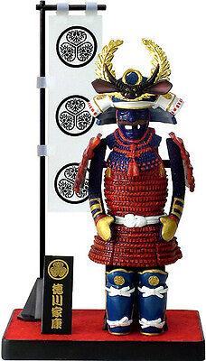 Authentic Samurai Figure/Figurine: Armor Series-B#4 Tokugawa Iesyasu