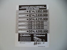 advertising Pubblicità 1983 CIGALA E BERTINETTI