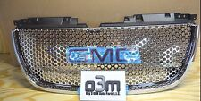 2007-2014 GMC Yukon Front Upper Chrome Grille w/ GMC Logo new OEM 22761715