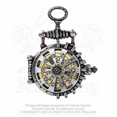 Steampunk Taschenuhr Neo Viktorianisch Uhr ALCHEMY Cosplay LARP Gothic WGT AW18