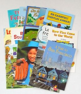 Harcourt Trophies Guided Leveled Readers 2nd Grade 2 Homeschool Lot