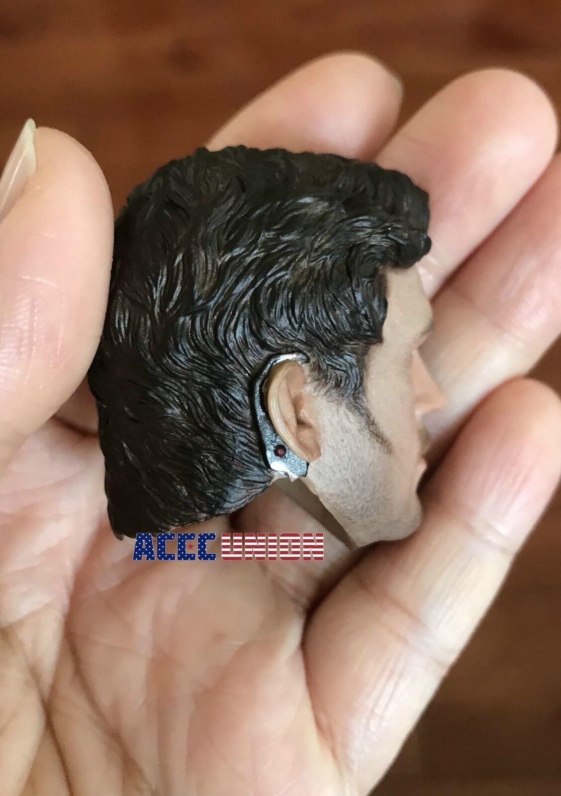 1 6 Star-Lord Chris Pratt 2.0 Head Sculpt 2.0 Pratt Guardians of The Galaxy For Hot Toys e0cd27