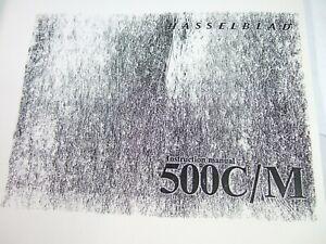 Details about HASSELBLAD 500CM film camera MANUAL INSTRUCTIONS Photocopy  Reprint (OTC)