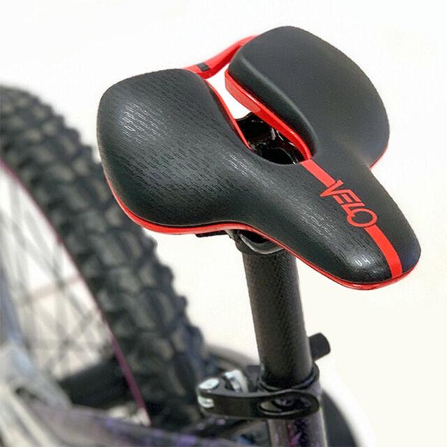 iZip Bicycle Seat Saddle Black with Orange White Trim 7mm Rails Bike Velo