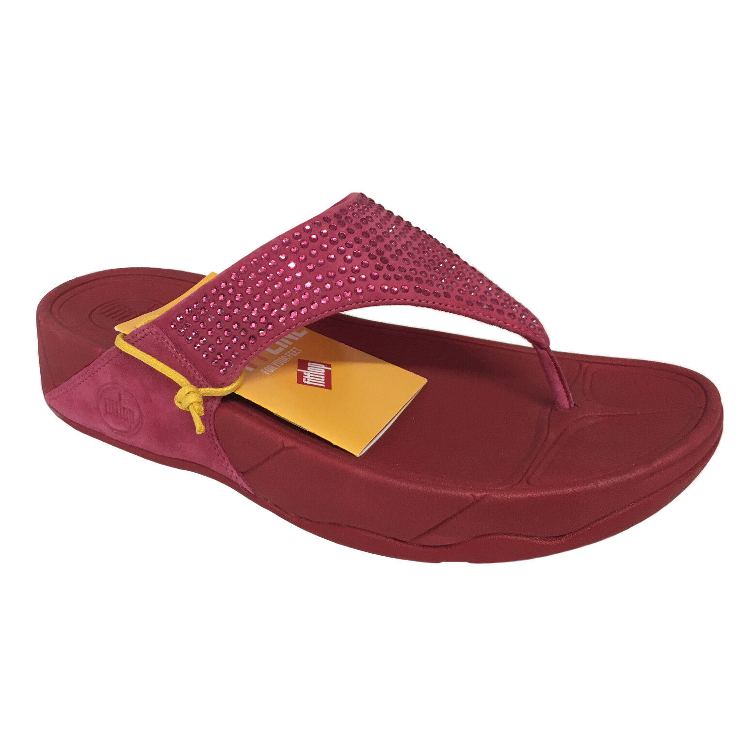 Zapatos casuales salvajes Barato y cómodo FIT FLOP chancletas mujer frambuesa mod 301-093-065 ROKKIT