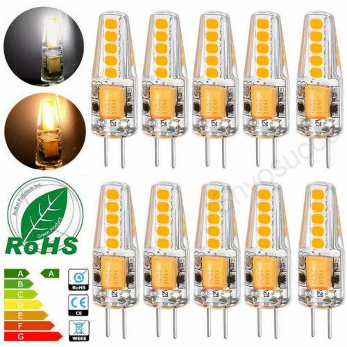 1//8//10x G4 6W DC 12V LED Lampe Stiftsockel Leuchtmittel Birne Warmweiß Kaltweiß