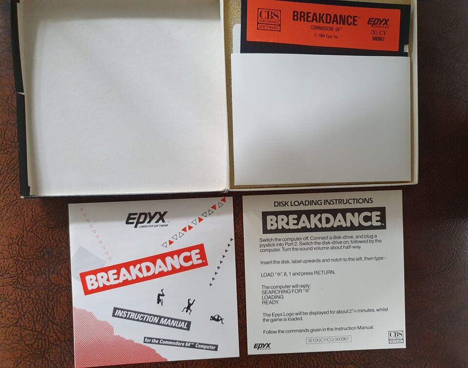 Break Dance [Disk version] , Commodore 64