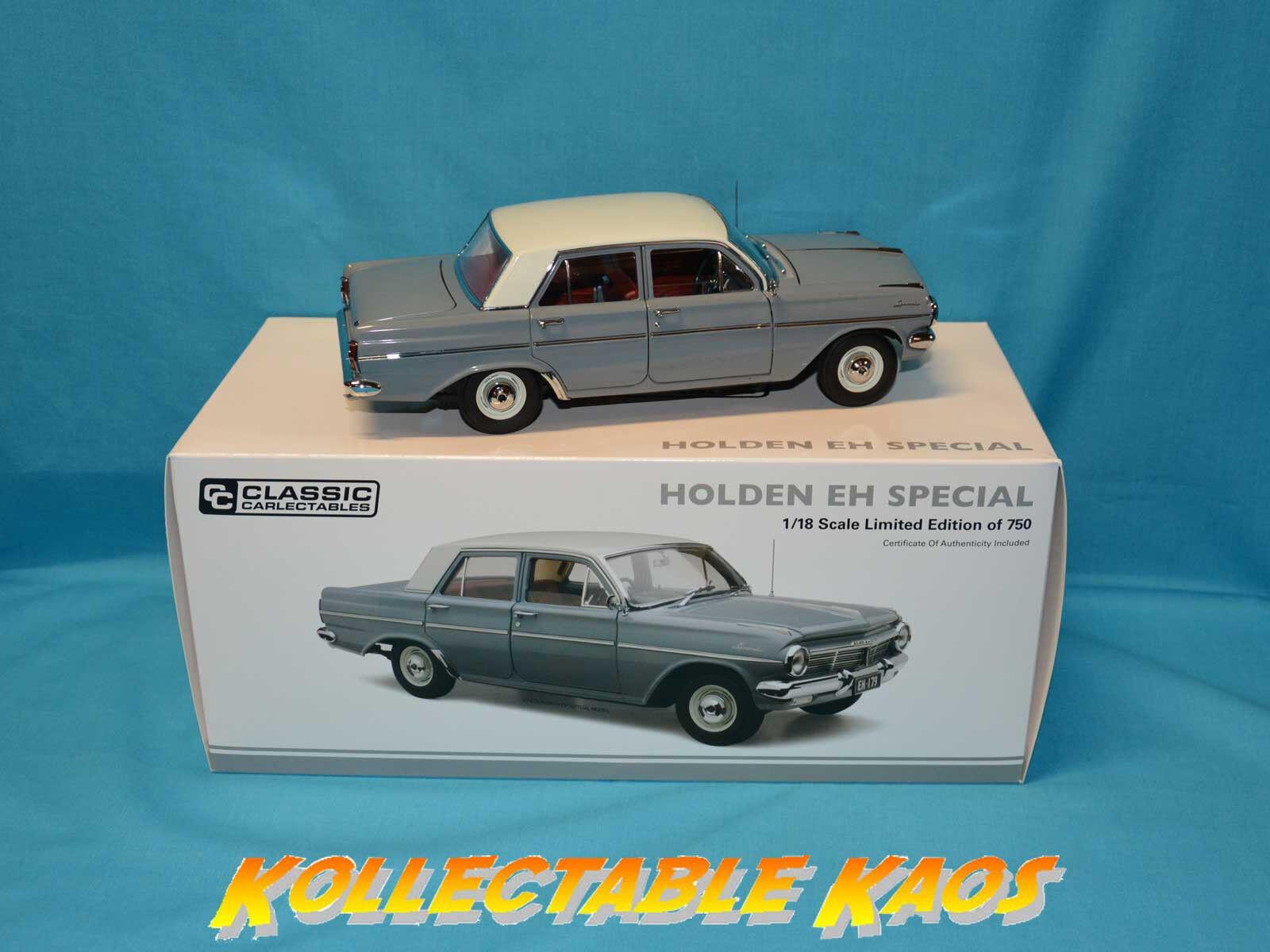 1 18 Classics - Holden EH Special - Gundagai gris  184105  750 MADE