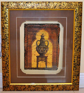 Amazing-Large-Modern-Framed-Sculpture-25-5-034-X29-5-034