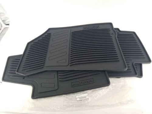 Genuine OEM Nissan 999E1-UZ000 All Weather Rubber Floor Mats Set 2013-15 Altima