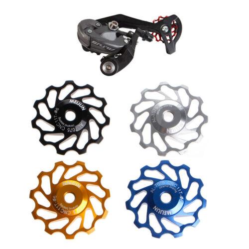 11Tooth MTB Ceramic Bearing Jockey Wheel Pulley Road Bicycle Bike Derailleur