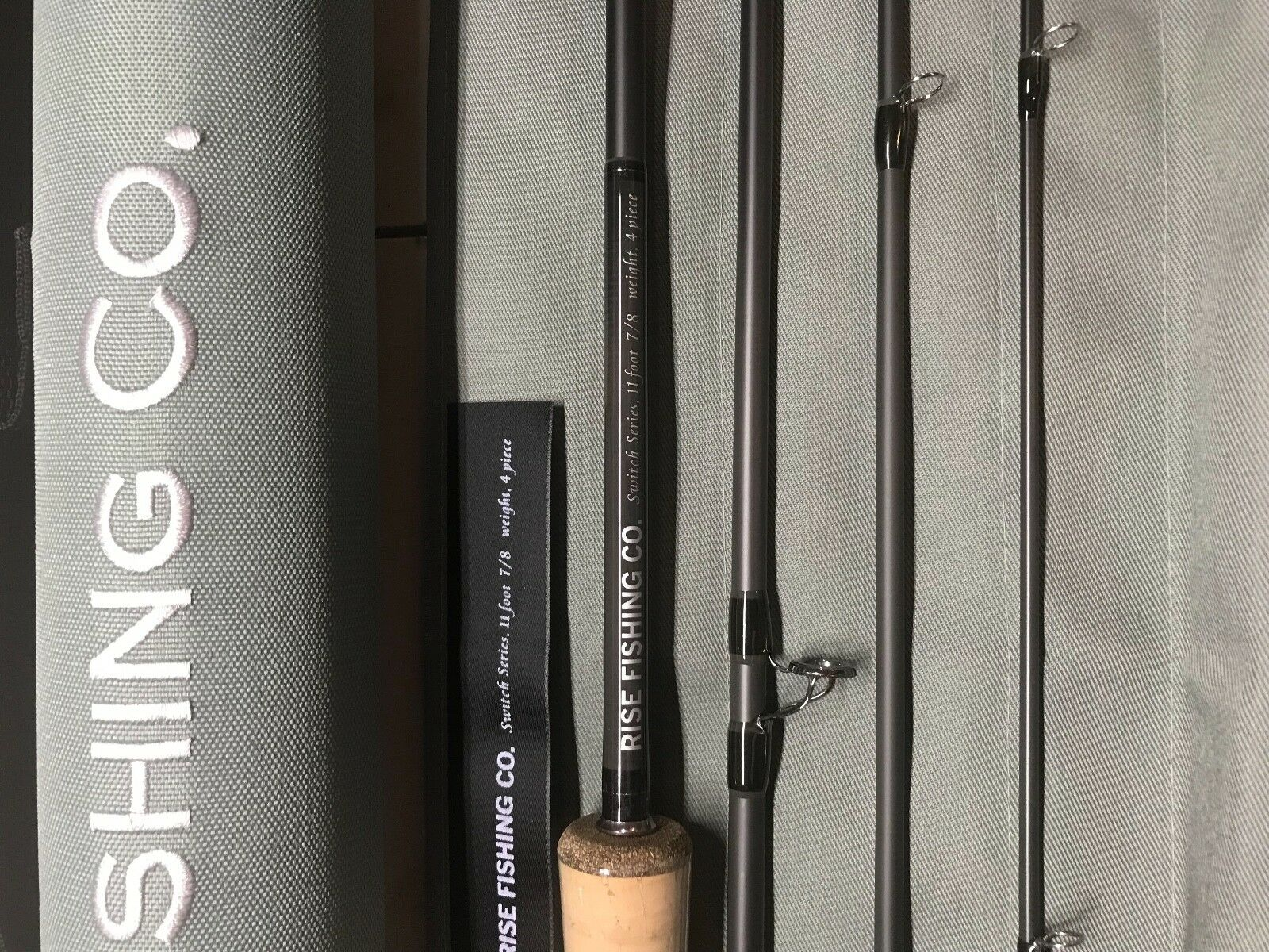 Switch Rod 11ft 78 wt by Rise Fishing Co.