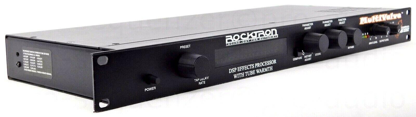 Rocktron MultiValve Tube DSP Effects Processor Gitarre Bass USA + 1Jahr Garantie