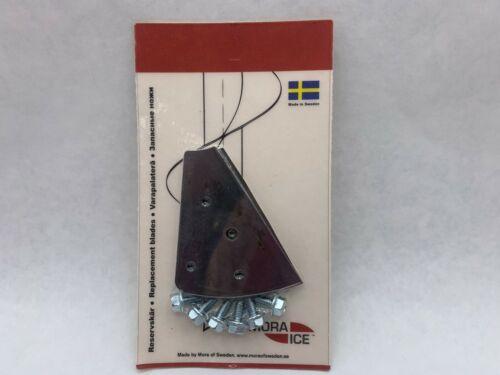 "Hand Auger Replacement Blades LSU-6B By Mora Ice 160mm StikeMaster Lazer 6/"""