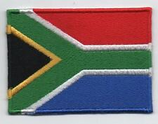 South African Large Flag Iron On / Sew On Patch Badge Appliqué ( South Africa )