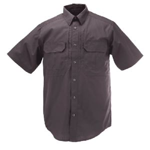 5.11 Tactical Taclite Pro Short Sleeve Shirt Men's 2XL Charcoal 71175 018