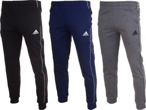 MENS-ADIDAS-SLIM-TAPERED-FLEECE-TRACKSUIT-JOGGING-BOTTOMS-JOGGERS-SWEATPANTS